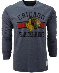 Charcoal Print Long Sleeve T-Shirt