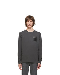 Maison Margiela Grey Stereotype Long Sleeve T Shirt