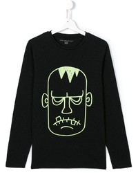 Stella McCartney Kids Frankenstein Monster Print T Shirt