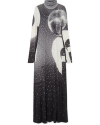MM6 MAISON MARGIELA Printed Stretch Jersey Maxi Dress
