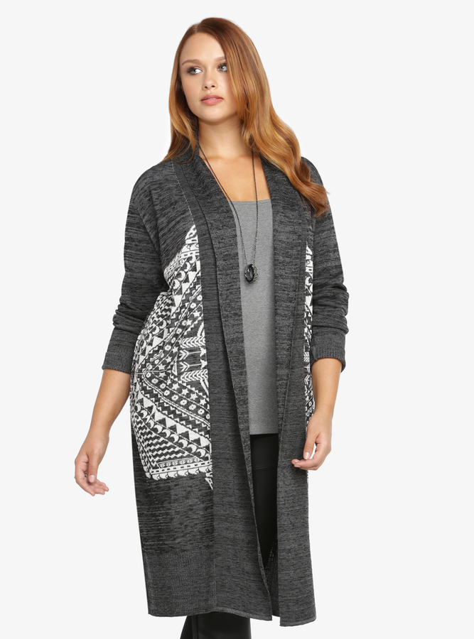 Torrid Marled Open Front Duster Cardigan | Where to buy & how to wear