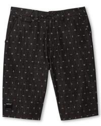 Charcoal Print Shorts