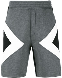 Neil Barrett Graphic Track Shorts