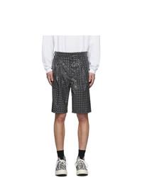 Doublet Grey Hologram Coating Shorts