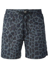 Marc by Marc Jacobs Leopard Print Sweat Shorts