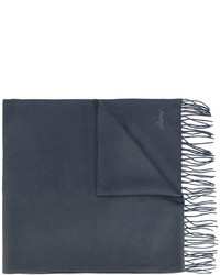 Brioni Double Side Printed Scarf