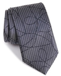 Ermenegildo Zegna Graphic Silk Tie