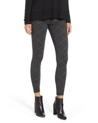 Charcoal Print Skinny Pants