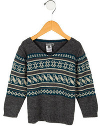 Bonpoint Boys Fair Isle Sweater