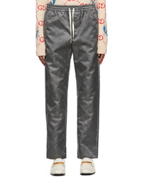 Gucci Grey Off The Grid Gg Lounge Pants