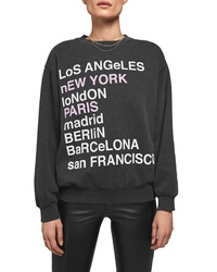Anine Bing City Love Sweatshirt