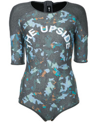 The Upside Camouflage Print Swimsuit