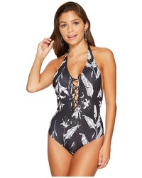 Roxy Strappy Love Printed One Piece Swimsuit Swimsuits One Piece