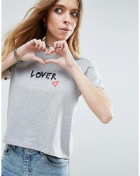 Asos T Shirt With Lovers Print