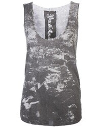 Buddhist Punk Distressed Tank
