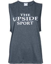 The Upside Logo Print Tank