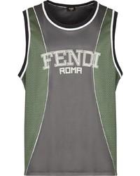 Fendi Logo Print Vest Top