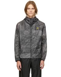 Nike Black Grey Acg All Over Cinder Cone Jacket
