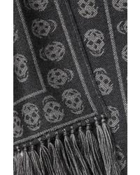 Alexander McQueen Printed Wool Scarf
