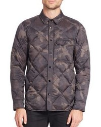 rag & bone Diamond Quilted Shirt Jacket