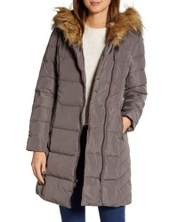 Cole Haan Feather Down Puffer Jacket With Faux