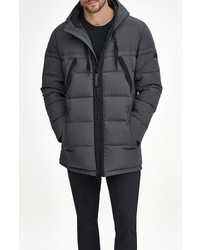 Marc New York Holden Water Resistant Down Feather Fill Quilted Coat