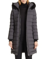 Burberry Limehouse Quilted Down Puffer Coat With Removable Genuine