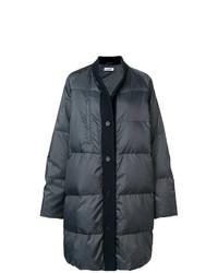 Jil Sander Wool Trim Puffer Jacket