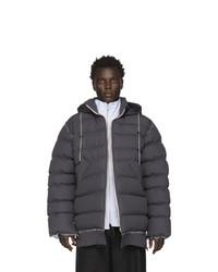 Camiel Fortgens Grey Puffer Jacket