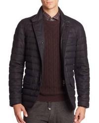 Ermenegildo Zegna Quilted Wool Puffer Jacket