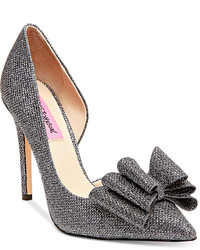 Betsey Johnson Prince Dorsay Evening Pumps Shoes