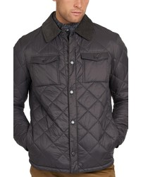 Barbour Quilted Shirt Jacket