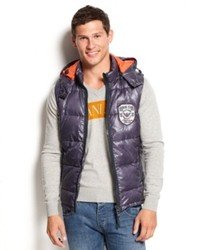Armani Jeans Vest Hooded Puffer