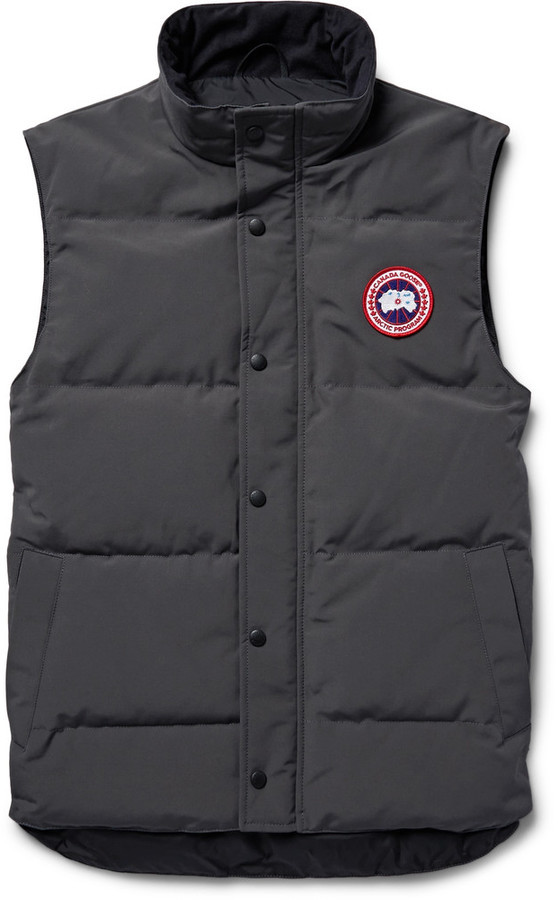 canada goose gilet with hood