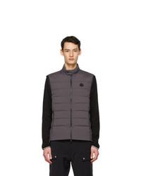 Moncler Grey Down Gordes Vest