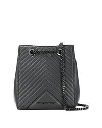 Karl Lagerfeld K Klassik Quilted Bucket Bag