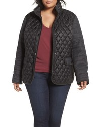 Plus size mixed media quilted jacket medium 4913757