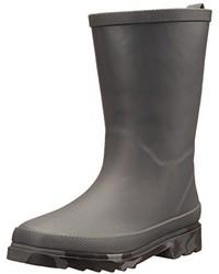 Charcoal Rain Boots