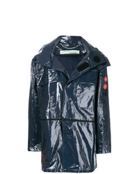Off-White Glossy Raincoat