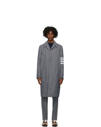 Thom Browne Grey Engineered Coat