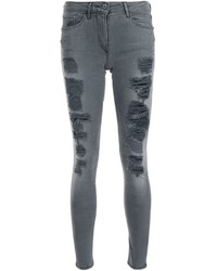 Distressed skinny jeans medium 646388