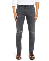 Citizens of Humanity Bowery Slim Fit Ripped Jeans