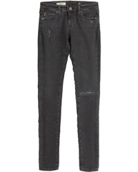 Distressed jean leggings medium 269848