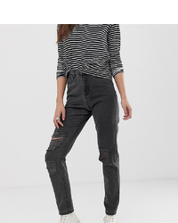 Noisy May Tall Distressed Mom Jean