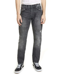 Ovadia & Sons Ripped Tapered Straight Leg Jeans