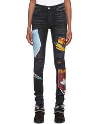 Amiri Black Playboy Edition Magazine Jeans