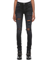 Amiri Black Thrasher Plus Jeans