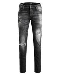 Jack & Jones Glenn Fox Ge 540 50sps Ripped Slim Fit Jeans