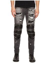 God Radburn Patchwork Biker Jeans