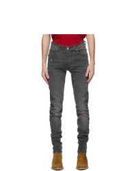 Amiri Grey Stack Jeans